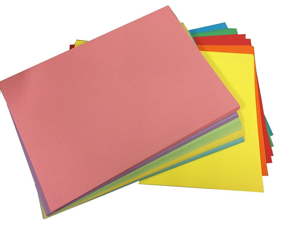 Casa de la tarjeta y Papel A4 cartulina – Rotuladores de colores (Pack de 10): Amazon.es: Oficina y papelería
