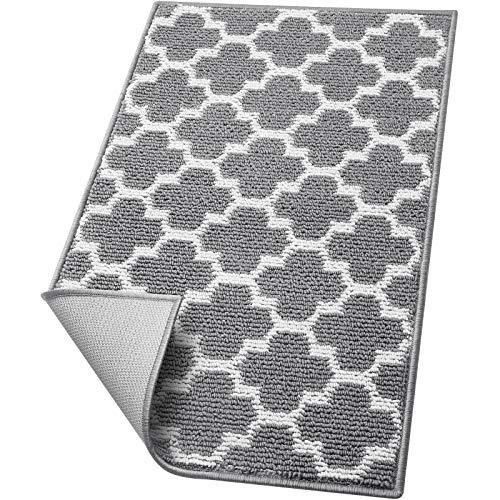 WiseLife Door Mat Indoor Outdoor Floor Mat,Non-Slip Absorbent Front Back Doormat Entryway Rugs,Low Profile Resist Dirt Door Mats for Home,Entrance,Garage