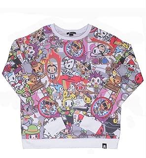 Tokidoki at The Circus Adult Sweater X-Large White