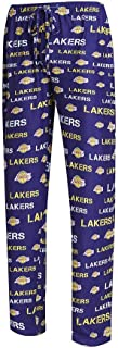 Los Angeles Lakers NBA Midfield Men's Polyester Blend Pajama Sleep Pants
