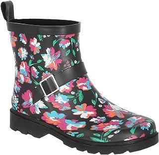 Ladies Short, Sporty, Lined Rainboots