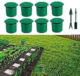 Trappola per lumache, set da 8   protezione biologica per il giardino   lotta contro le lumache   trappole per lumache senza prodotti chimici e veleno   Collare per lumache e sciogliere
