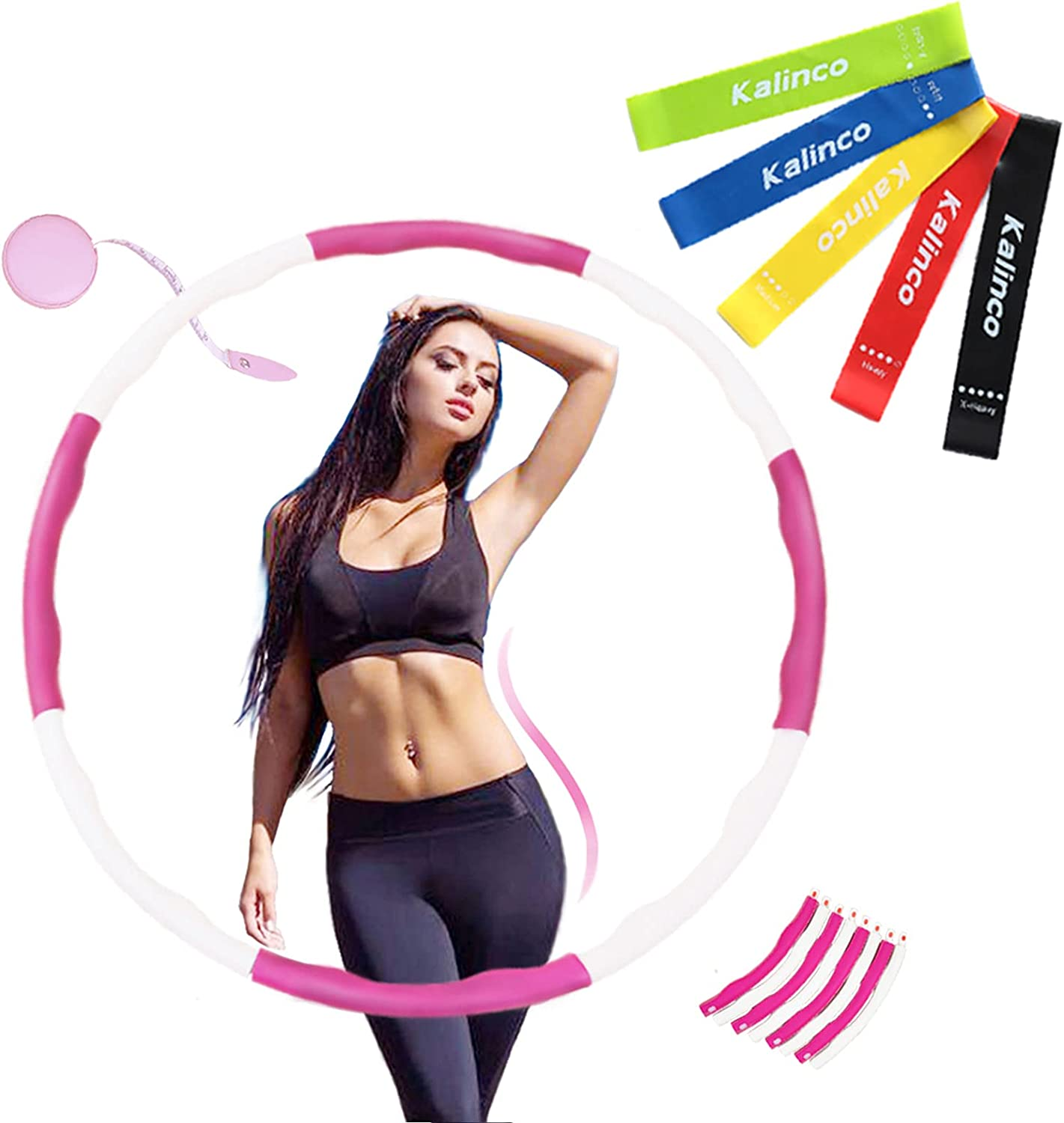 KALINCO Exercise Hoops for Adults Weight Selling Max 70% OFF rankings Weighted Loss Hoop