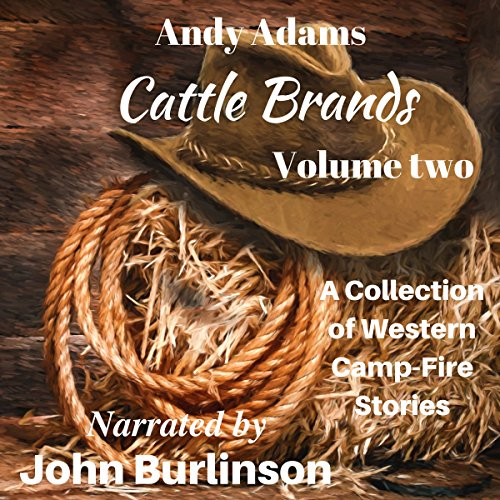 Cattle Brands audiobook cover art