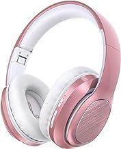 Bluetooth Headphones Over Ear, BLARO Hi-Fi Deep Bass Wireless&Wired Headsets, 53 Hours Playtime, Soft Memory Protein Earmu...
