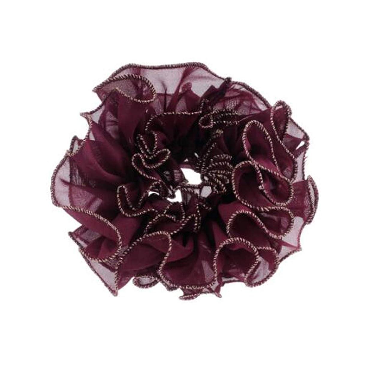 ジョセフバンクス賄賂挑むヘアクリップ、ヘアピン、ヘアグリップ、ヘアグリップ、帽子、ファッションヘアアクセサリー、ヘッド、花、ネクタイ、ヘアロープ、ヘアバンド、ラバーバンド、帽子、A219、ブルゴーニュ、ネイビー、グレー、ブラック (Color : Wine red)