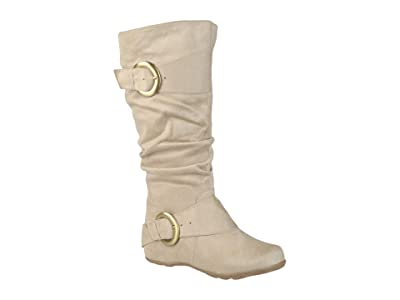 Journee Collection Jester-01 Boot Wide Calf (Stone) Women