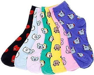 Mujer calcetines,algodón calcetines,niña calcetines divertidos,Algodón Calcetines de Animales Lindos para Mujer Calcetines, suave algodón elástico toca suavidad,que tus pies estén