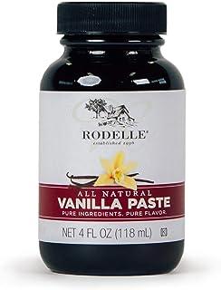 Rodelle Paste, Vanilla, 4 Fl Oz (Pack of 1)
