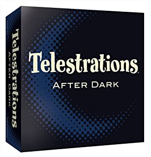Telestrations After Dark Adult Party Game | Adult Board Game | An Adult Twist on The 1 Party Game Telestrations | The Telephone Game Sketched Out | Ages 17