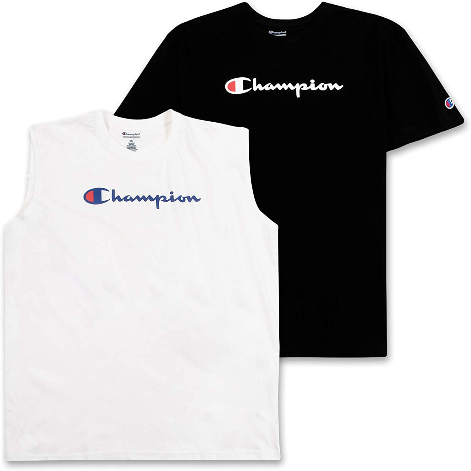 All stores are sold Champion Mens Big and Charlotte Mall Tall T Pack 2 Crewneck Tees Shirt Men