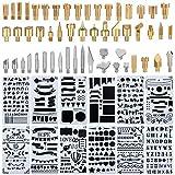 Kit de soldador, puntas de pluma para quemar madera, incluye kit de...