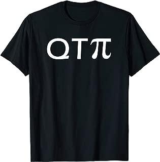 Q T Cutie Pi Love For Math Geek Funny T Shirt