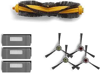 Zealing Zestaw filtrów i szczotek zamiennik do odkurzacza ECOVACS Deebot Robotics 900 901 akcesoria do odkurzacza