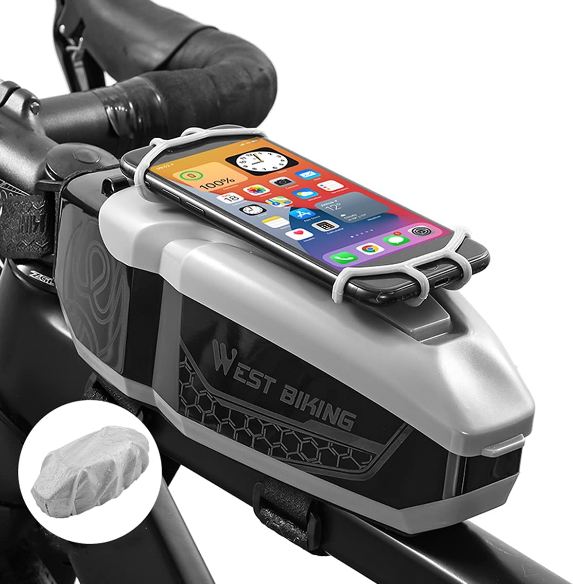 Bike Seat Bag Waterproof Top Clearance SALE! Limited time! Front Frame Bicycle Tube Phoenix Mall