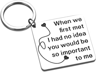 Valentine's Day Gifts for Boyfriend Girlfriend Christmas Birthday Keychain Husband Wife Anniversary Wedding Day Present Fi...