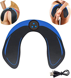 LAHappy Hip Trainer, Carga USB EMS Hips Trainer Entrenador de Cadera Entrenador Cadera Levantando Fitness Gear Cuerpo Belleza Shaper Machine para Levantamiento Cadera