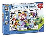 Ravensburger - Puzzle 2 x 12, Paw Patrol D (07613)