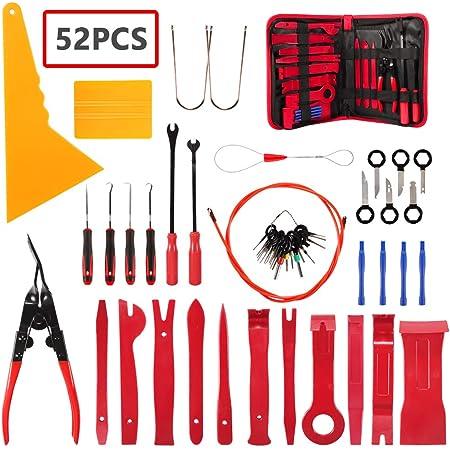 Demontage Werkzeug Auto Stylingcar Zierleistenkeile Verkleidungs Werkzeug Für Innen Verkleidung Ausbau Verschiede Arten Von Werkzeug Enthältet Starke Nylon 19pcs Blau Auto