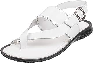 White Men's Fashion Sandals: Buy White