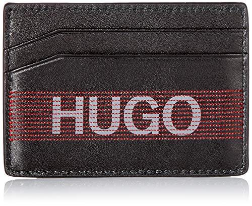 HUGO GBHM_S Card m, Set de regalo (soporte para tarjetas/clip de moneda). para Hombre, Negro1, ONESI
