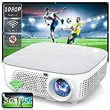 Best Pocket Projectors - WISELAZER Projector 4K Home Cinema Native 1080P, Outdoor Review