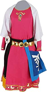 Princess of Royal Family Skyward Sword Dress Outfit Cosplay Costume