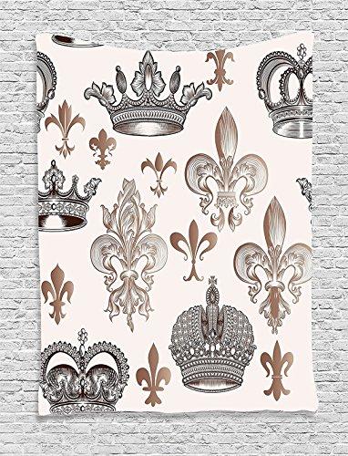 Koongso Queen Crowns - Manta para Colgar en la Pared, Diseño de Hippie
