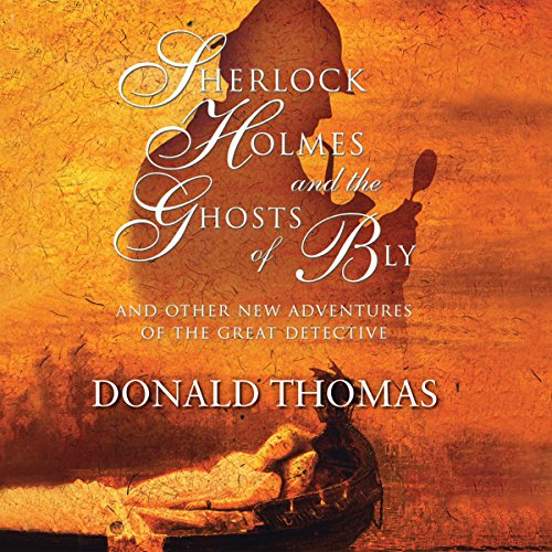 Sherlock Holmes and the Ghosts of Bly: audiobook cover art