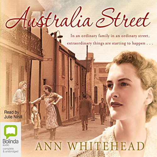 Australia Street audiobook cover art