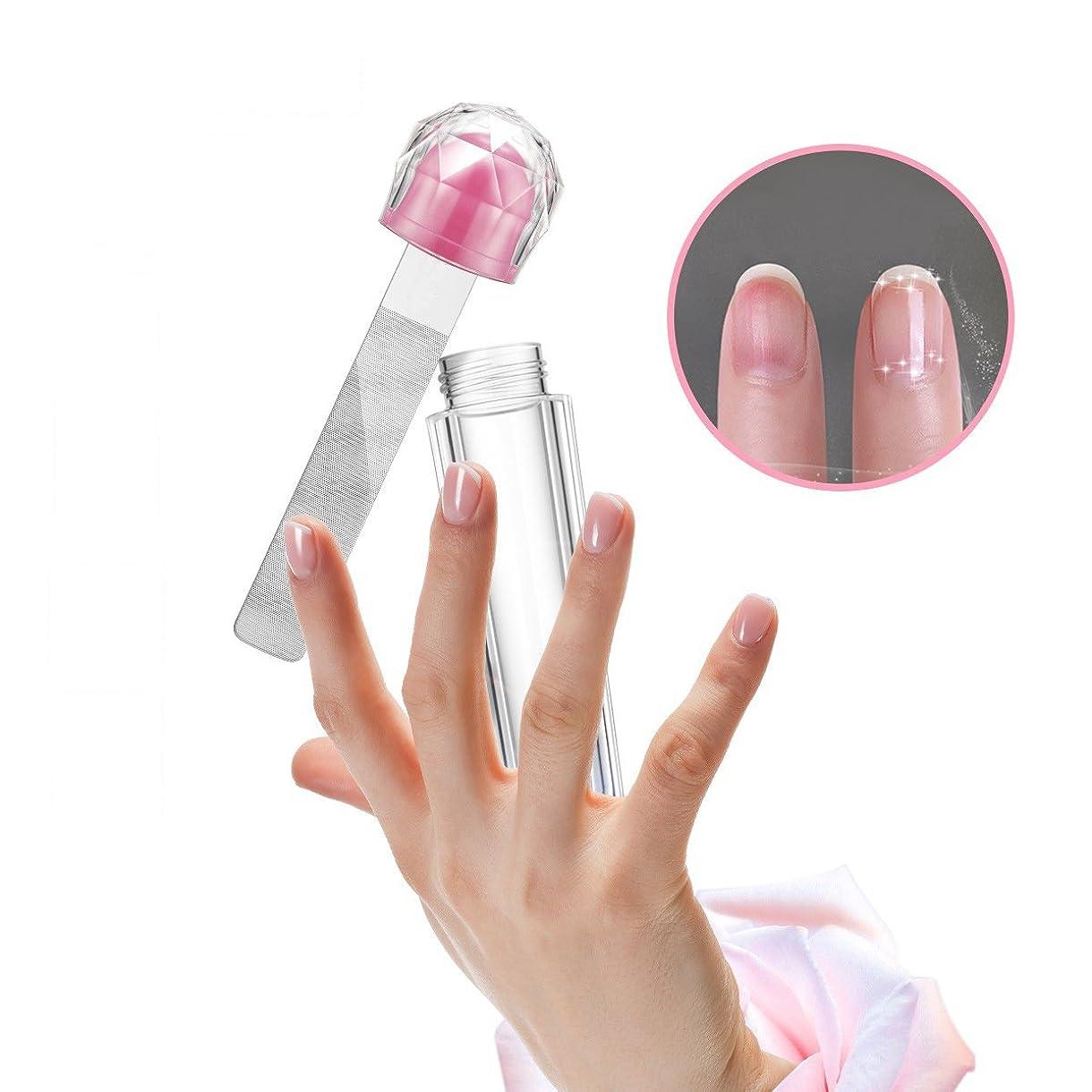石化する定期的換気Beatease 専門的な爪磨き用のやすり、水で洗えるガラス爪バッファ美容ネイルアート