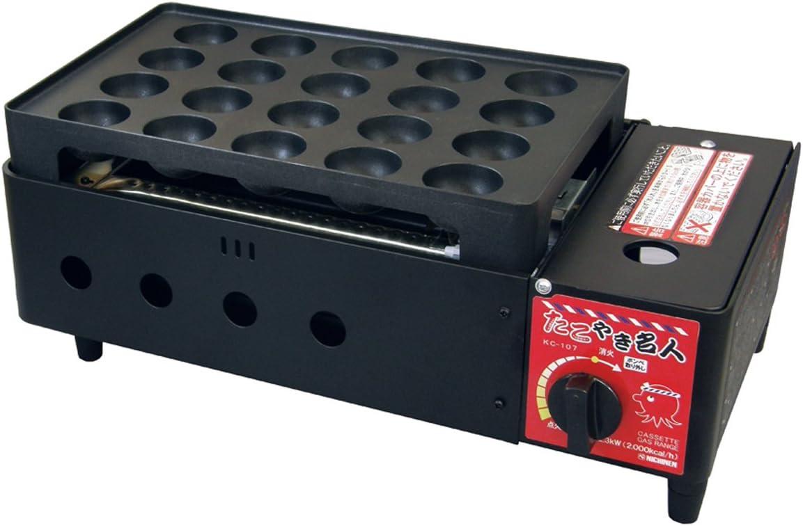 ニチネン たこ焼き器 カセットボンベ式