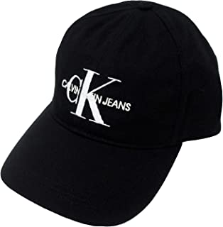 Calvin Klein Jeans Men's Embroidered Monogram Logo Baseball Dad Hat
