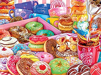 Buffalo Games - Donut Worry, Be Happy! - 1000 Piece Jigsaw Puzzle from Buffalo Games
