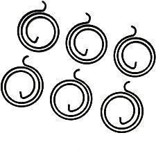 6 Stks Deur Hardware Handvat Veren 2.5 Draaispoel 3 mm Dikke Thuis Deur Reparatie