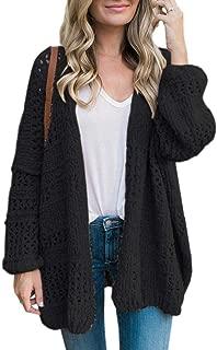 Gemijack Womens Plus Size Knit Cardigan Oversized Chunky Sweater Coat for Fall