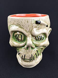 Disney Trader Sams Zombie Shrunken Head White Mug