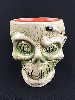shrunken head mug