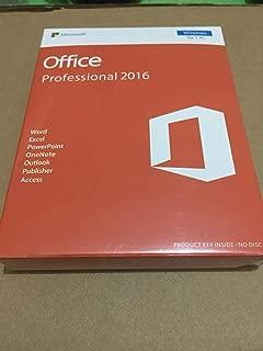 Office Professional Plus 2016 (1 User- Windows) License key- No CD