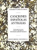 Canciones Espanolas Antiguas (Voice and Guitar)