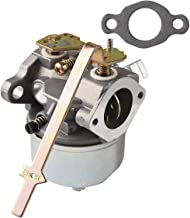 RUHUO Carburetor for Tecumseh 631918 HS40 4HP HS50 5HP Engine Lawn Mower Carb