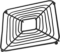 YARNOW Cast Iron Trivet Metal Hot Pot Pan Pads Rack Stand Iron Art Hollow-out Table Mats Coaster Placemat for Kitchen Coun...