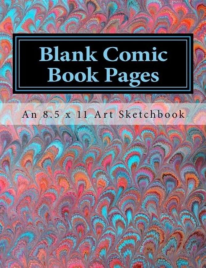 お風呂無傷ファンブルBlank Comic Book Pages: An 8.5 x 11 Art Sketchbook