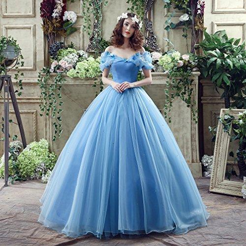 Vestido De Novia Azul Cenicienta