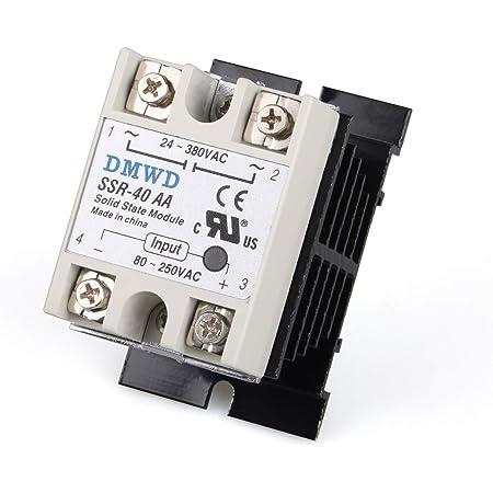 3-32V 60DD//80DD//100DD Solid State Relay DC Control Communication SSR Solid State Relay Module BRM-100DD
