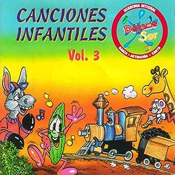 Canciones Infantiles, Vol. 3