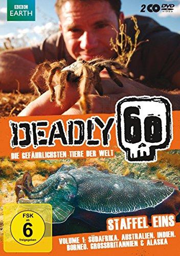 Deadly 60 - Die gefährlichsten Tiere der Welt, Vol. 1 (2 DVDs)