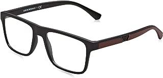 Emporio Armani Square Sunglasses For Men - Clear, EA4115 50421W54