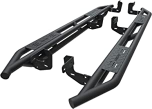 oEdRo Running Boards Compatible for 2009-2018 Ram 1500 Crew Cab & 2010-2018 Ram 2500/3500 Crew Cab, Textured Black Side Step 6 inch Nerf Bars (Fits Crew Cab Only)