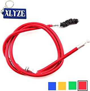 red Stylish Anti‑shock Clutch Line Handle Antirust Clutch Adjustment Cable Clutch Adjuster for Motorbike for Mopeds